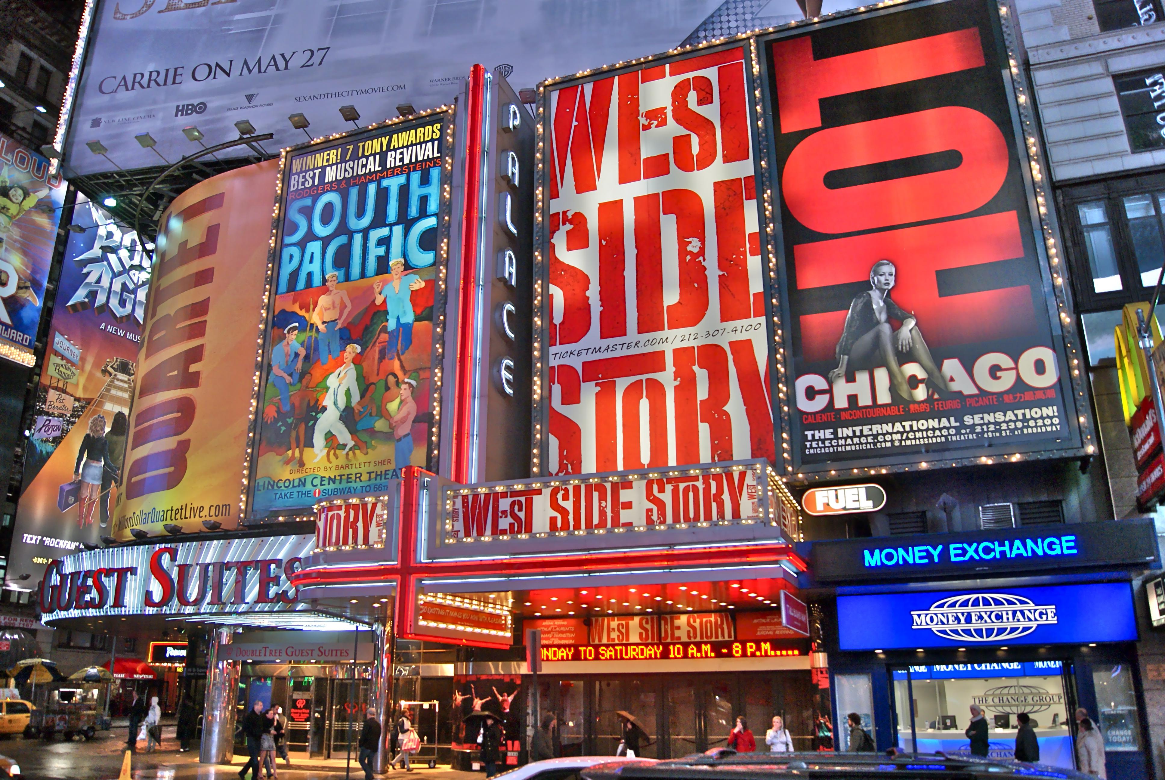 Бродвей Нью Йорк