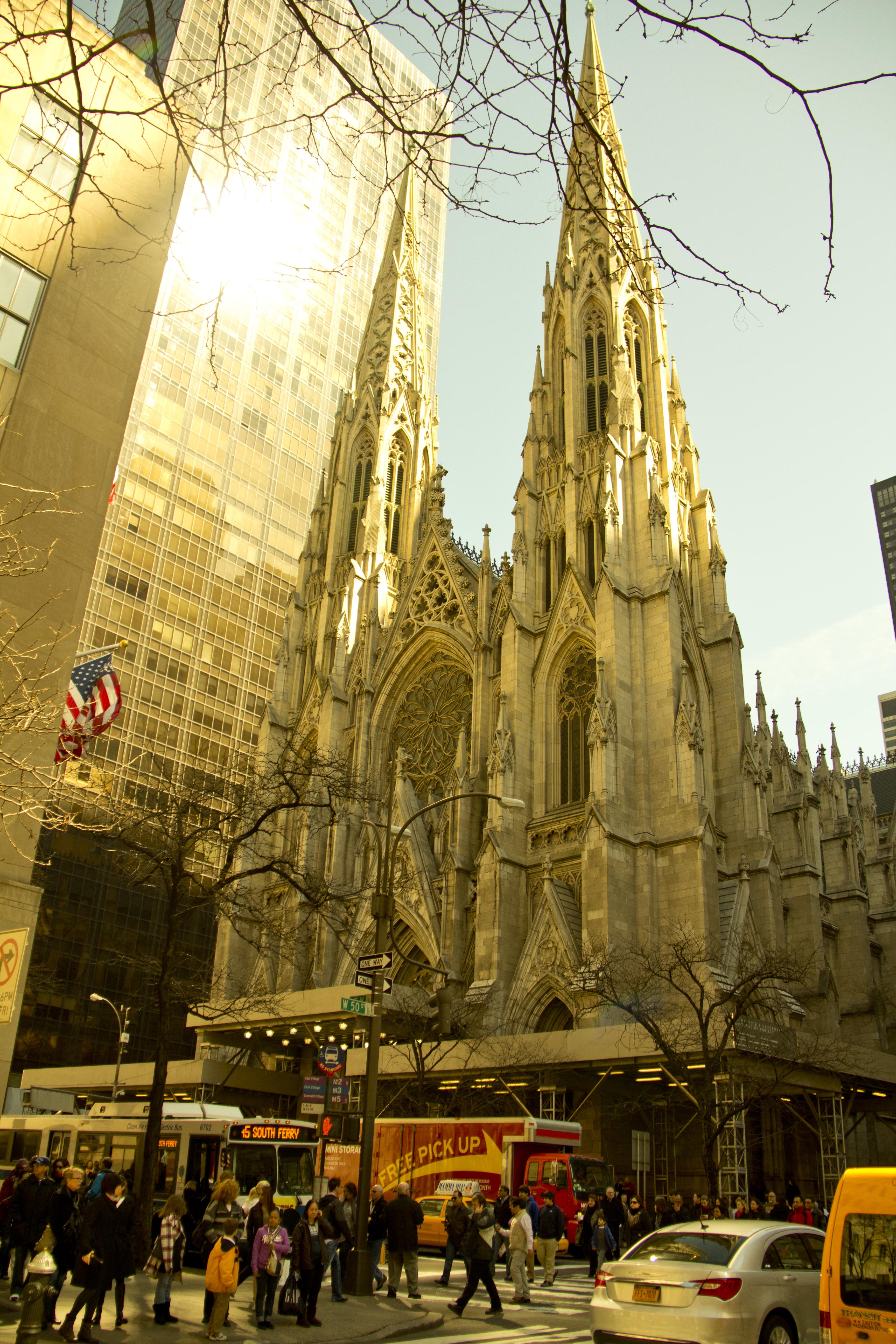 Собор Святого Патрика Нью-Йорк