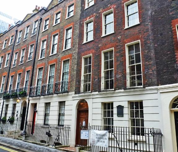 Дом Бенджамина Франклина Лондон