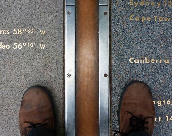 Королевская обсерватория - нулевой меридиан