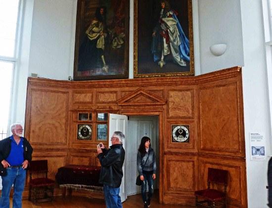 Королевская обсерватория - Восьмиугольная комната
