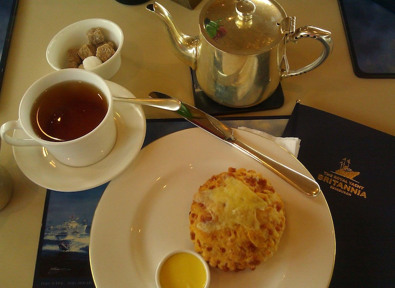 Королевская яхта Британия - Послеобеденный чай